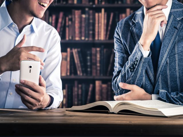 「ITの知識」と「語学力」のイメージ