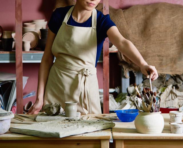 職人の世界で活躍する女性
