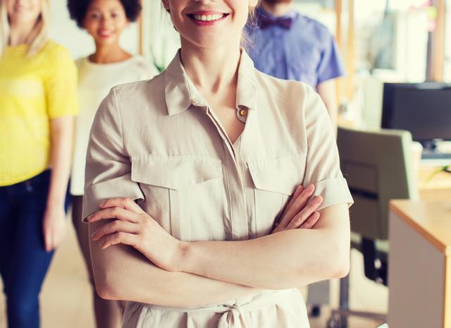 資格なしで転職した女性
