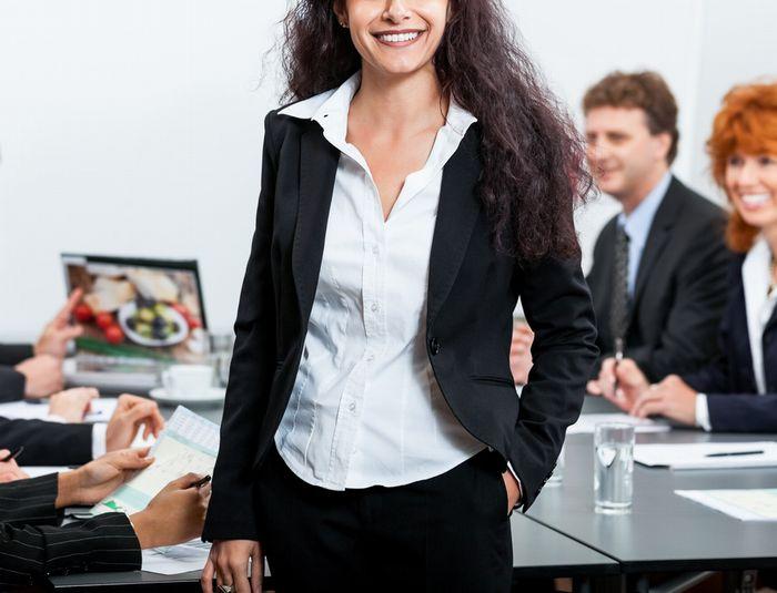 転職に成功した40代女性