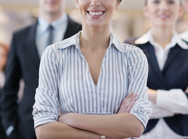 転職成功した女性