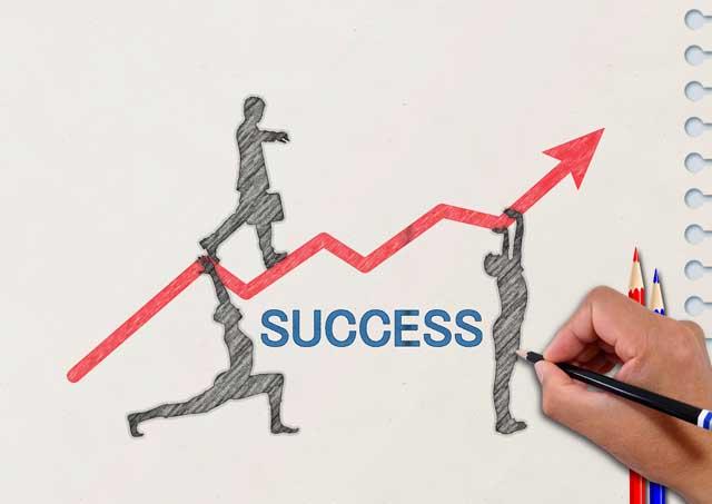 転職成功のイメージ
