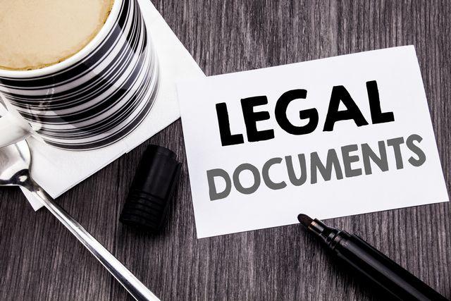 特許関係の書類 イメージ