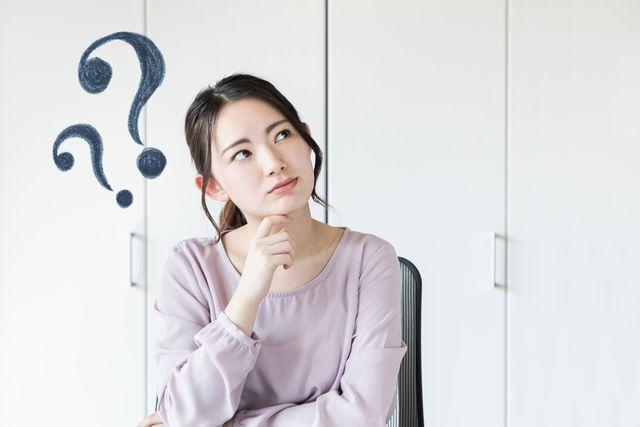就職成功のコツを考える40代女性