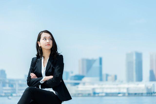 正社員転職を目指す女性