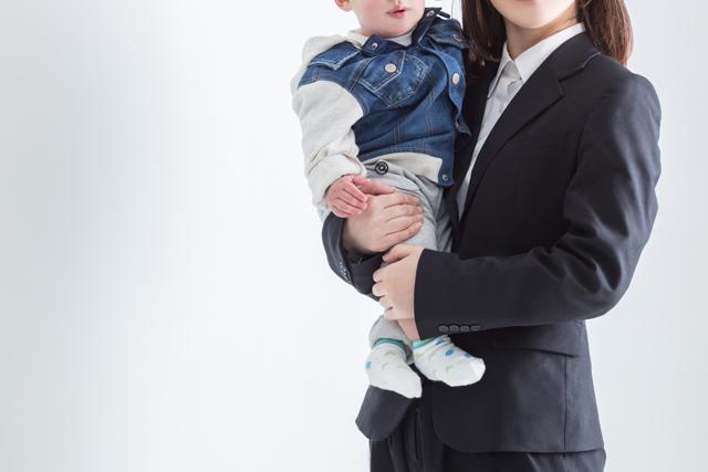 出産した働く女性