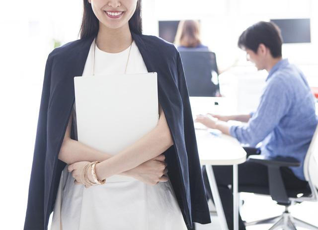 経験を生かして正社員に転職した女性