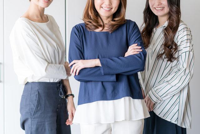 転職に成功した女性たち