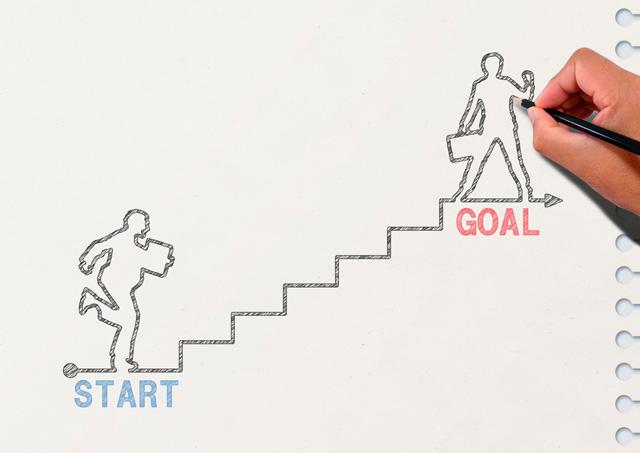 キャリアのステップ