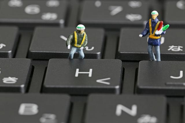 技術職の仕事をする人