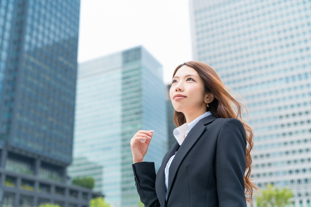 転職活動中の20代女性