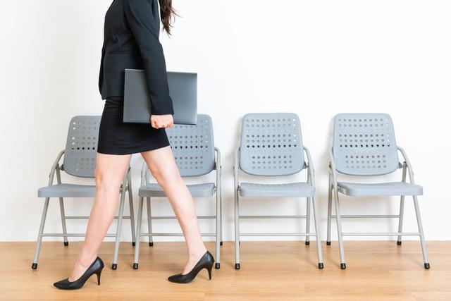 転職活動中の40代女性