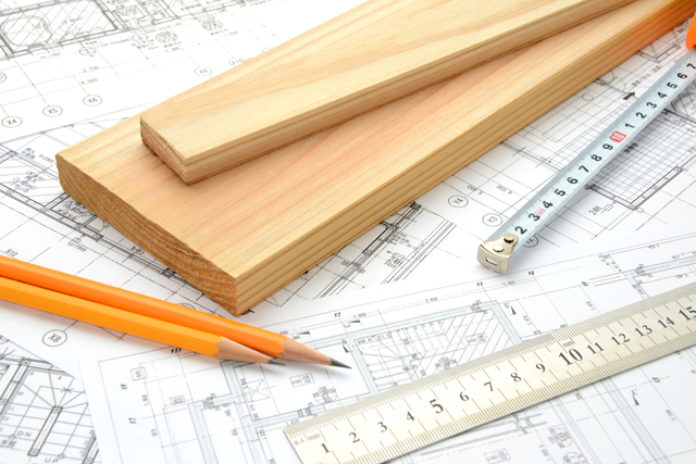 建築の図面