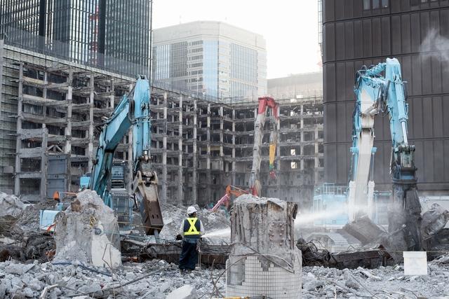 建設業界 解体の仕事