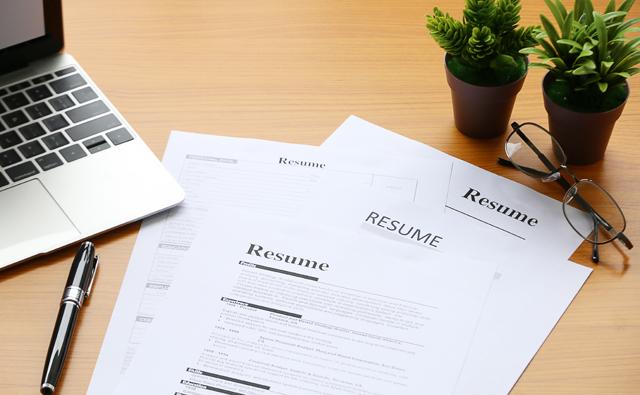 転職活動の応募書類