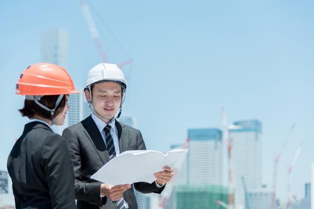 施工管理の仕事 イメージ