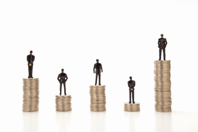 施工管理 収入格差のイメージ